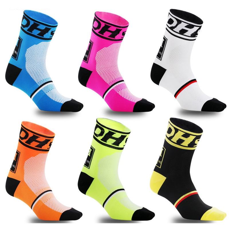 Men Professional Brand Sport Pro Cycling Socks Comfortable Road Bicycle Socks Mountain Bike Socks Racing Socks Women Eur 35-45