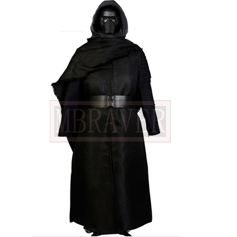 New Star Wars: The Force Awakens Kylo Ren Cosplay Costume Custom Made Z1001