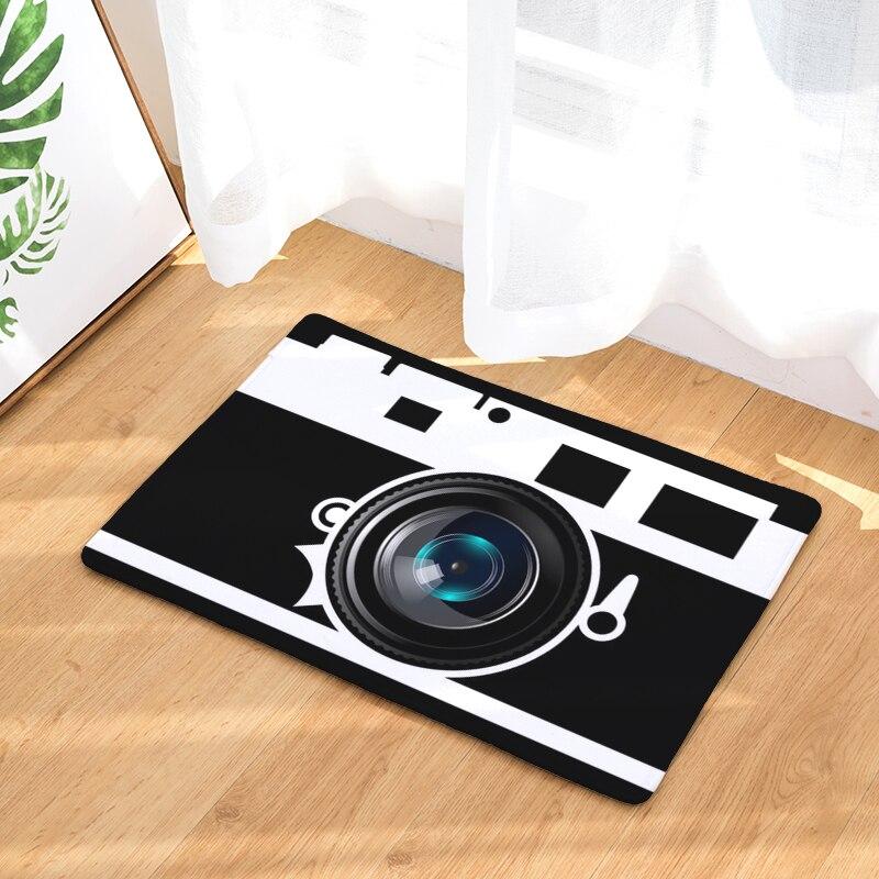 Anti Slip Floor Carpet Mat 3D Tape Pattern Print Doormat for Bathroom Kitchen Entrance Rugs Home Decoration40x60 50x80cm