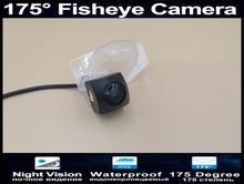 175 Degree 1080P Fisheye Reverse camera Parking Car Rear view Camera for Honda CR-V 2000-2014 Fit 2006 - 2014 Backup