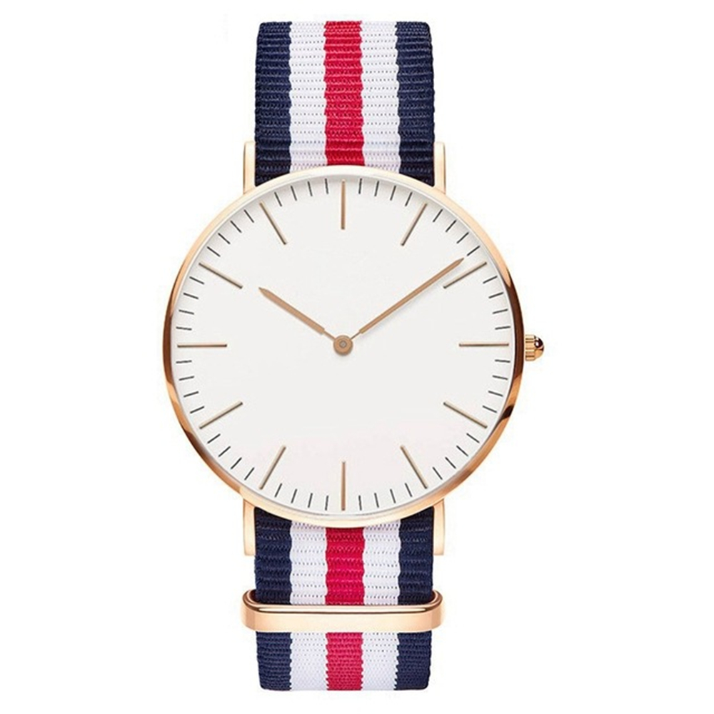 Daniel wellington, the man not the brand, had a preference for wearing his watches with nato straps, a type of nylon strap that was used by the british navy.