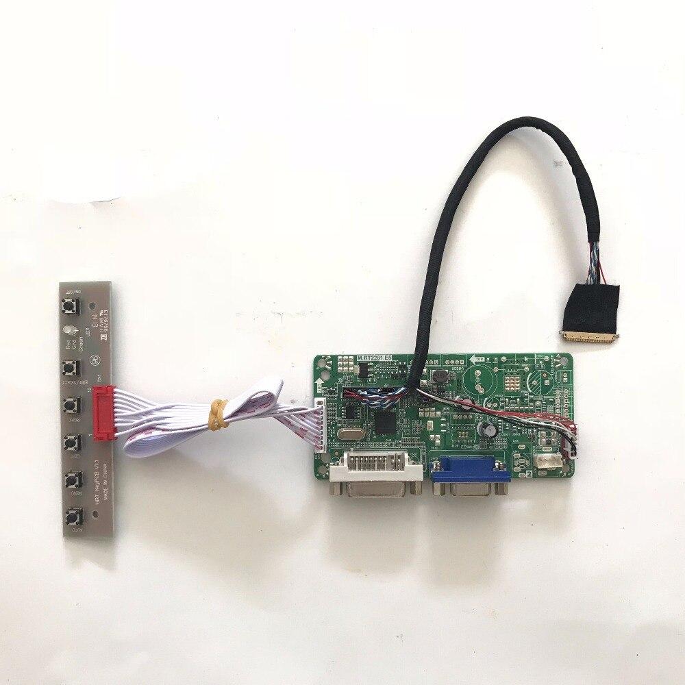 HDMI+DVI+VGA Kit for B101AW02 V.0 V0 1024x600 LCD LVDS Controller Driver Board