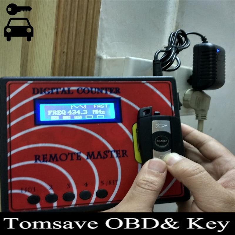 ФОТО  Wireless Digital Counter Remote Master RF RFID Key Controller for Lockshop Locksmith