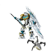 The Bionicle gonlei kopaka master of ice mask light the toys children building block 708 - 2 kids Christmas