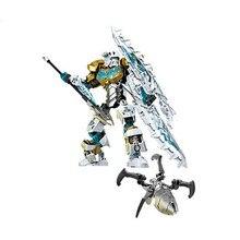 цены The Bionicle gonlei kopaka master of ice mask of light of the Bionicle toys children building block 708 - 2 kids toys Christmas