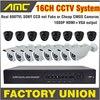 600TVL Video Surveillance Cctv System IR CCTV Camera 16ch DVR Kit 16channel Stand Alone HDMI DVR
