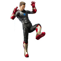 Movie the Avengers Iron Man Cartoon Toy Action Figure Model Doll Gift