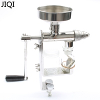 JIQI Manual Oil press machine Stainless Steel Oil presser Nut seed expeller maker extractor hand Oil production kitchen tools