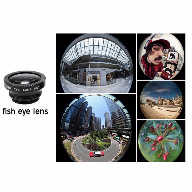 Newest Mobile Phone Camera Lens Kits Fisheye lense Wide Angle Macro Lens 12X Zoom Camera Telephoto Lens For iPhone Samsung LG 20