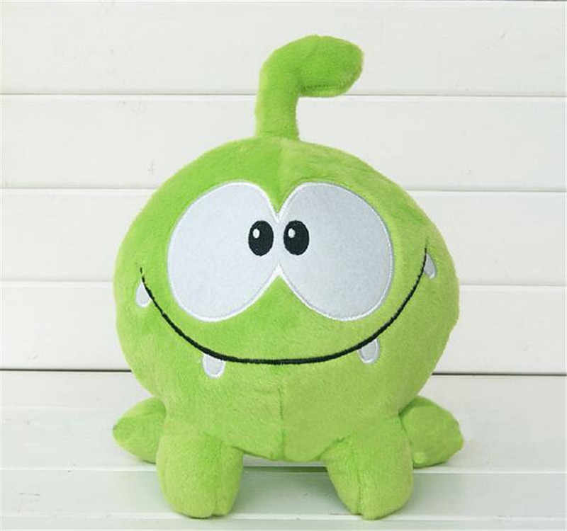 20CM Green Frog Kawaii  Plush Stuffed Toys Cut The Rope Soft Rubber Cut The Rope Figure Toy Gift For Kids