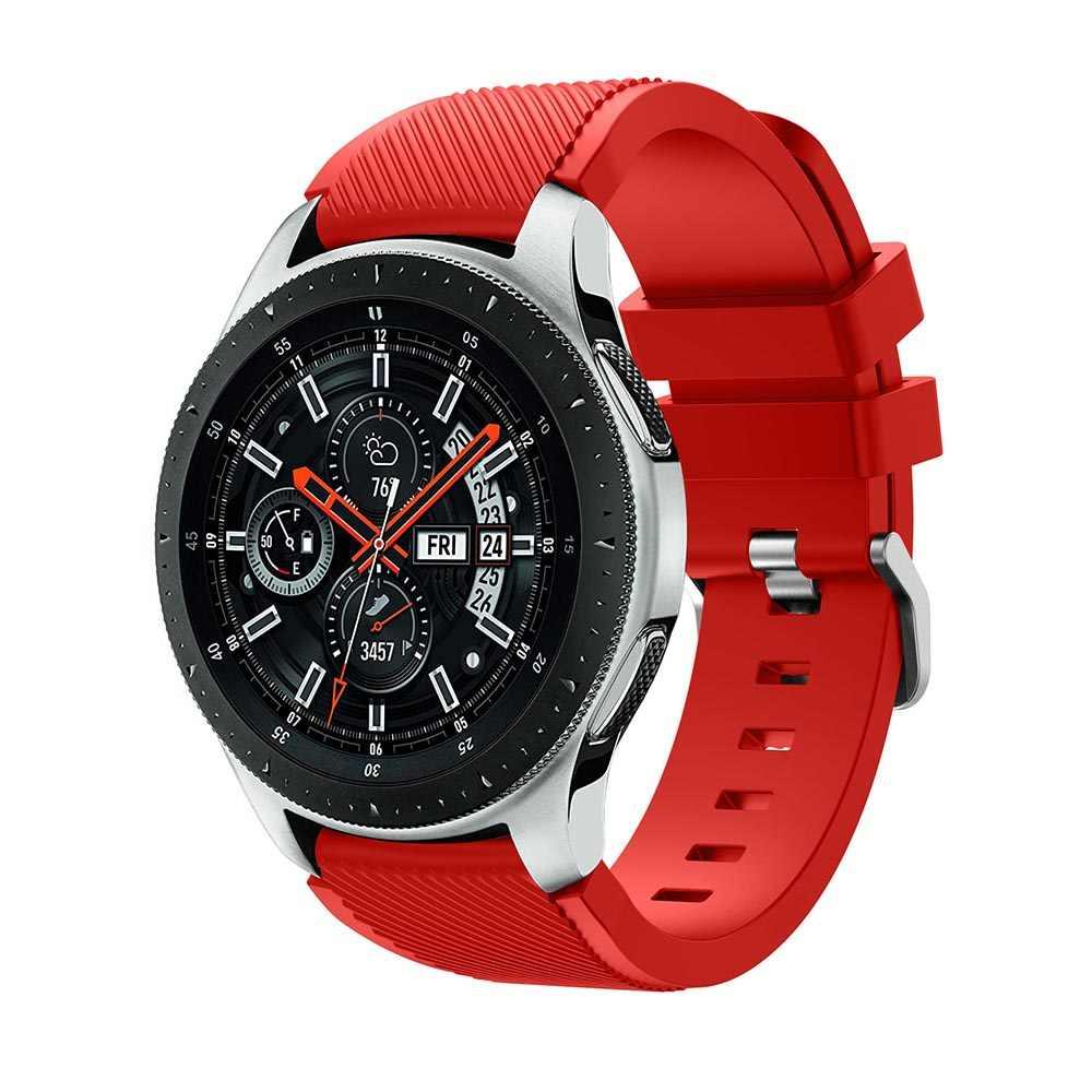 22 ミリメートル時計バンドサムスンギャラクシー腕時計 46 ミリメートルのためのサムスンギア S3 フロンティアクラシックバンド Replacemet ストラップギア s3