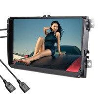 9 дюймов Сенсорный экран 2 Din Android мультимедиа автомобиля Bluetooth WI FI автомобильный навигатор радио MP5 аудио видео плеер gps Реверсивный Камера