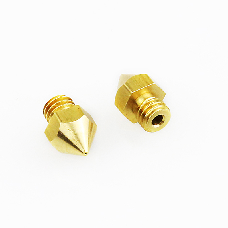 100PCS/lot 3D printer Extruder Nozzle For 1.75mm Filament Mix 0.2/0.3/0.4/0.5mm Compliant with ultimaker MK7 MK8 Reprap DIY Kit