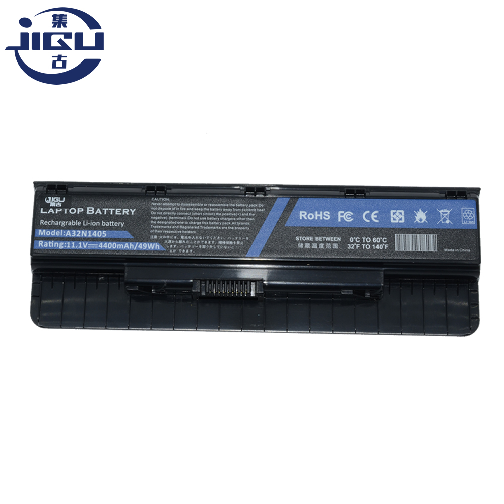 JIGU Laptop Battery A32N1405 A32NI405 For ASUS G551 G551J G551JK G551JM G551JW N551JW4720 N751 N751JK For ROG G58 G58J 6CELLS