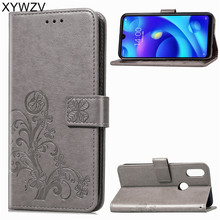Xiaomi Mi Play Case Luxury PU Cover Flip Wallet Phone Bag For Silicone Back Fundas