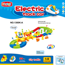 Track Railway Race Car boys Toys Electronic Track Play Set Flash Light Music DIY Play Set Bend Flexible  car toys for children цена 2017