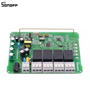 Image 4 - Sonoff 4CH Pro R2 스마트 와이파이 라이트 스위치 4 갱, 3 가지 작동 모드 인칭 인터록 자동 잠금 RF/Wifi 스위치는 alexa와 함께 작동합니다