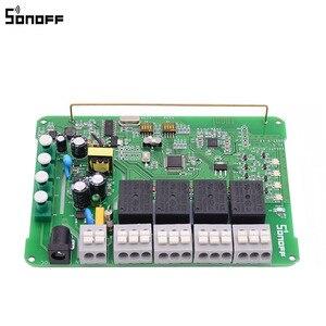Image 4 - Sonoff 4CH Pro R2 Thông Minh Wifi Công Tắc Đèn 4 Băng Đảng 3 Chế Độ Làm Việc Inching Khóa Liên Động Tự Khóa RF/Công Tắc Wifi Hoạt Động Với Alexa