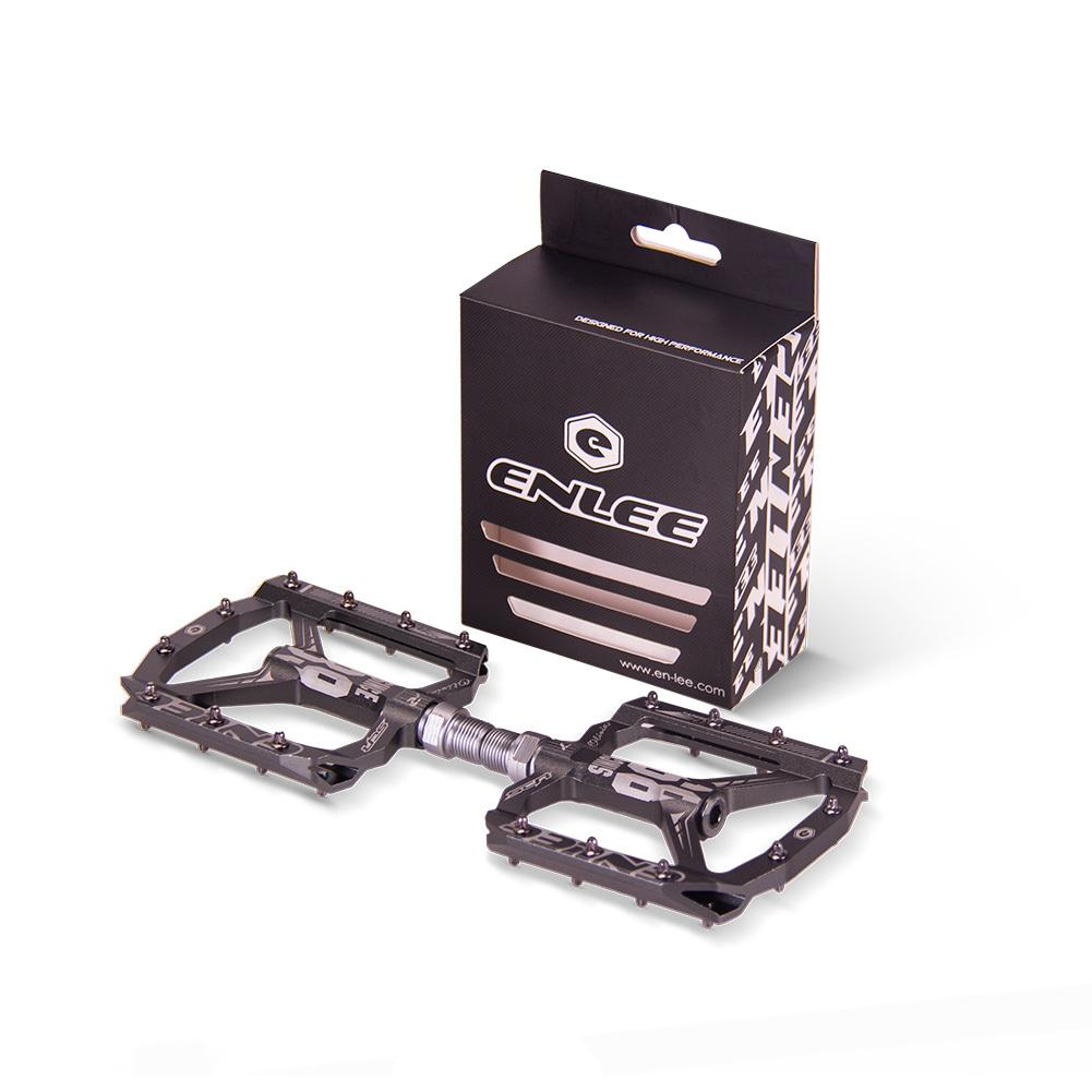 Image 5 - Enlee Bicycle Pedal Mountain Bike Bearing Pedal DH Off Road Vehicle Equipment Pedal S1-in Bicycle Pedal from Sports & Entertainment
