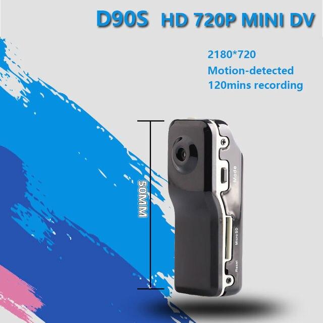 D90s Мини DV DVR Спорт Камера для Велосипедов/Мотоцикл Аудио-Видео рекордер HD Mini DVR Камера DVR Держатель небольшой видеокамеры 720 P dv