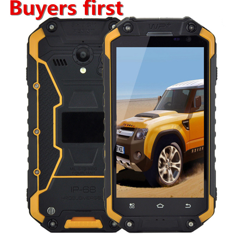 JEASUNG X8G IP68 Android 5 1 MT6735 4G LTE 2G RAM 16G ROM 4 7 Waterproof