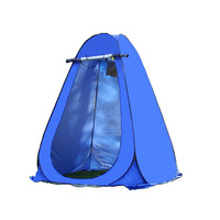 Bathing Tent Shower Beach Fishing Outdoor Camping Toilet Tent Changing Room Shower Tent with Carrying Bag