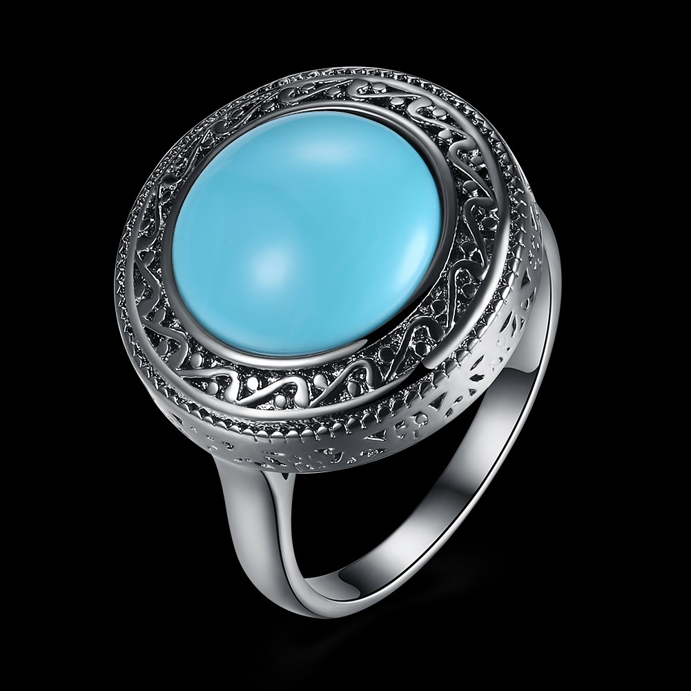 turquoise piedras y femme voor vrouwen verdes green stone aneis finger tibetana jwelry cuba roxi viennois Dahu R Dahu Rico rings