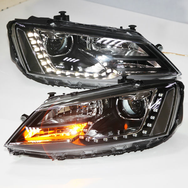 For VW New Jetta Sagitar LED Headlight wIth DRL 2012 year