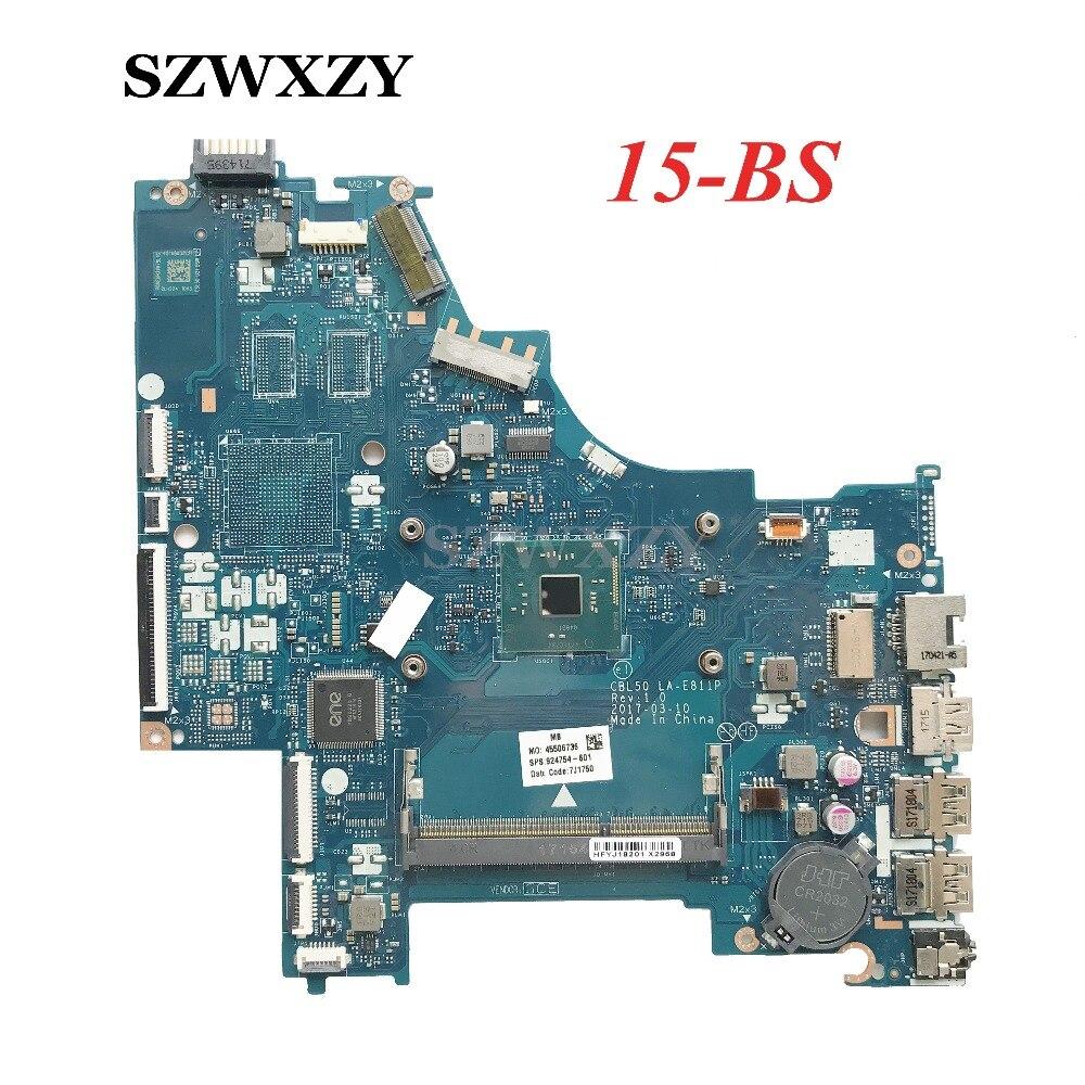 Csl50/csl52 La-e811p Für Hp 15-bs Laptop Motherboard 924754-601 924754-501 924754-001 N3710 Prozessor Nicht Repariert