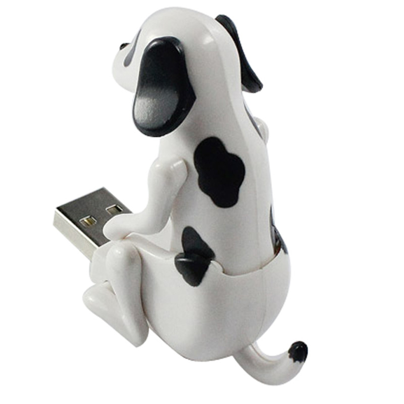 Mini Funny Cute USB Humping Spot Dog Toy USB Gadgets For PC