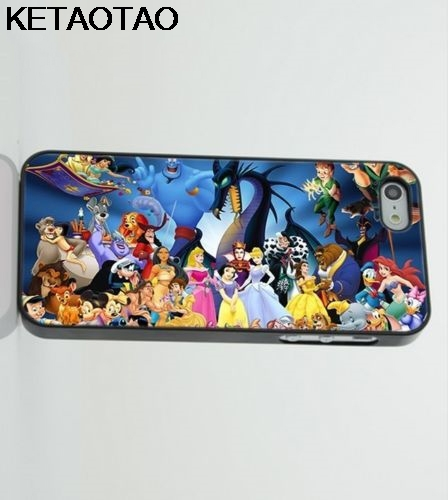 KETAOTAO Characters Jungle Book Aladin Phone Cases for iPhone 4S 5C 5S 6 6S 7 8 Plus X for Samsung Case Soft TPU Rubber Silicone
