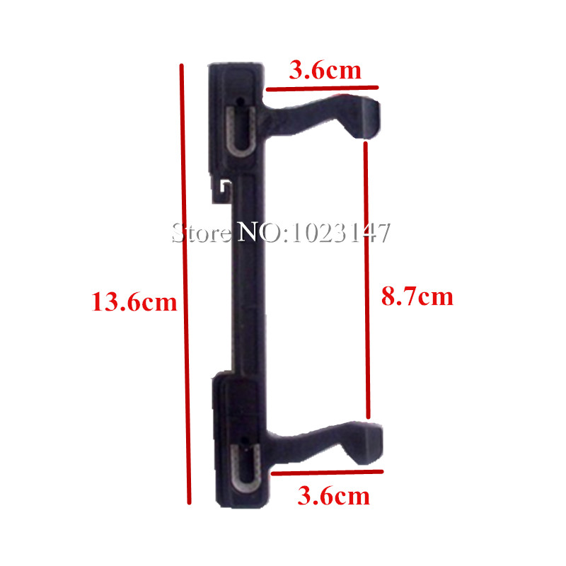 Microwave Oven Accessories 3.6 cm Hook Door Switch Plastic Hook Lock for Midea Microwave Oven Parts the new microwave oven parts key latch switch door hook plastic switch microwave spare parts wblmg 4 1