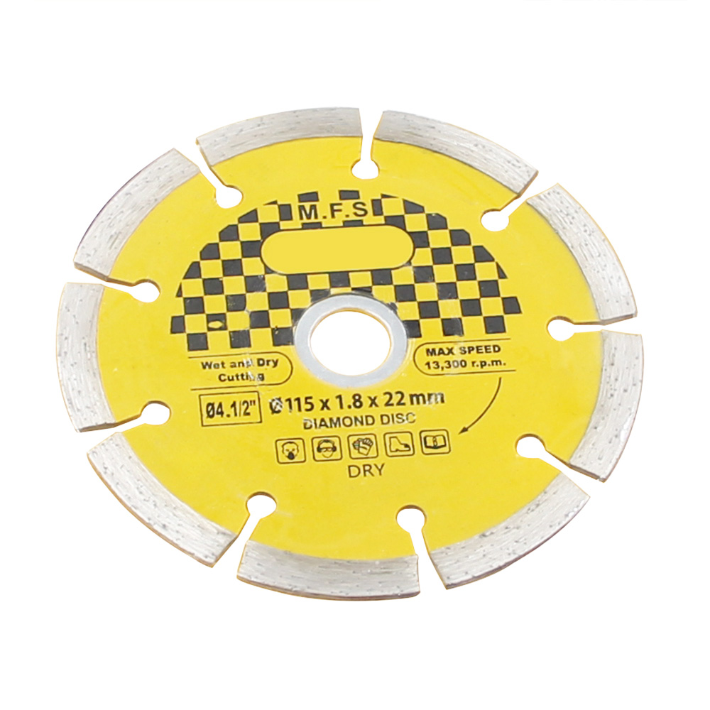 Image 3 - Ceramic Tile Cutting Disc Circular Saw Blade 115mm Diamond Grinding wheels Cutting Blade Wheel Saw marble Brick Concrete stone-in Saw Blades from Tools