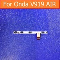 "Interruptor Original on off botão Volume Poder Flex cable Para Onda V919 ar V989 AIR Quad-Core 9.7 ""condutora cabo flex + adesivo"