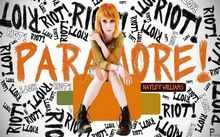 "048 Paramore - American Rock Band Hayley Williams Canvas 22""x14"" Poster(China)"