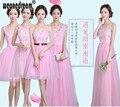 WEONEDREAM Bridesmaid Dress Prom Dresses Pink Purple Champane Floor Length Chiffon Long Short Party Gowns Quinceanera Dress