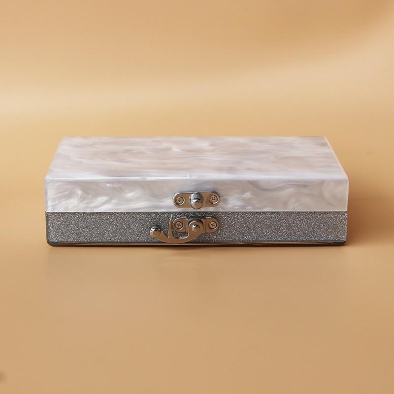 Caja de acrílico bolso de embrague de las mujeres pequeña bolsa de - Bolsos - foto 4