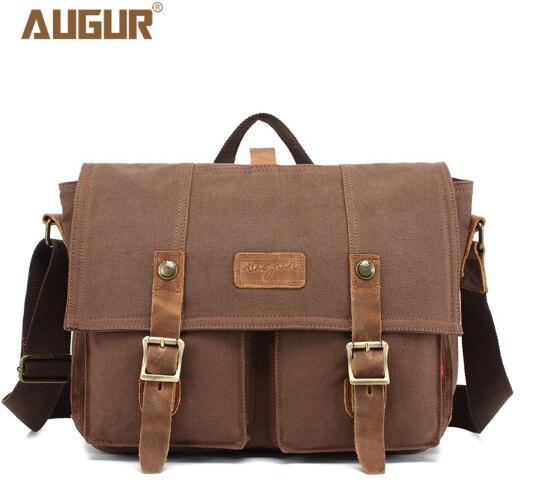 2018 new canvas Messenger bag men retro leisure shoulder bag Messenger bag Europe and the United States laptop bag цена