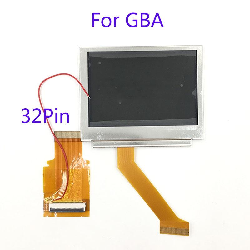 Para Nintendo GameBoy Advance pantalla LCD para GBA SP AGS 101 Highlit pantalla LCD OEM retroiluminada más brillante con 40pin 32pin cable plano - 4