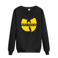 Hoodie Sweatshirt Product Wu Tang Hip Hop LOGO Fashion Cotton Round Collar Men Leisure Pullover
