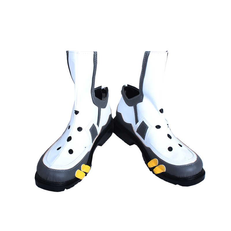 ROLECOS Oyunu OW Izle Üzerinde Cosplay Ayakkabı Tracer Beyaz spor ayakkabı Kadınlar için Cosplay Ayakkabı DÜŞÜK Izle Üzerinde Tracer Cusomized Boyutu