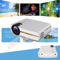 Newest YG400 Projector Multimedia portable Mini LED Projector 1000 Lumens home theater PC USB HDMI AV VGA SD for Home Cinema