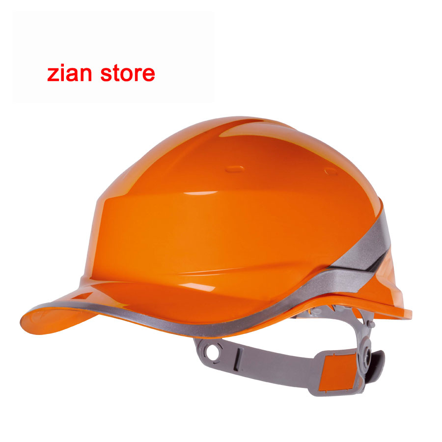 Image 5 - Free print logo Safety Helmet Hard Hat Work Cap ABS Insulation Material With Phosphor Stripe Construction Protect Helmetshelmet hard hathard hatsafety helmet -