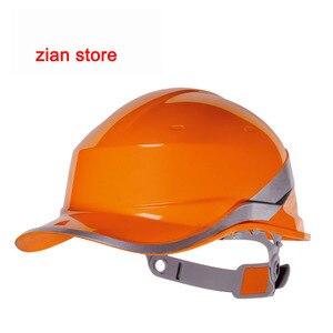 Image 5 - Material de isolamento do abs do tampão do trabalho do capacete de segurança do chapéu duro do logotipo da cópia livre com construção da listra do fósforo protegem capacetes