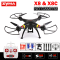 СЫМА X8 X8C RC Drone НЕТ Камеры 6-осевой Вертолет Quadcopter может Соответствовать Gopro или Xiaoyi Камера VS Сыма X8W X8HW X8HG