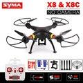 X8 X8C SYMA RC Drone SIN Cámara 6-Axis RC Helicóptero Quadcopter puede Montar Gopro o Xiaoyi Cámara VS Syma X8W X8HW X8HG