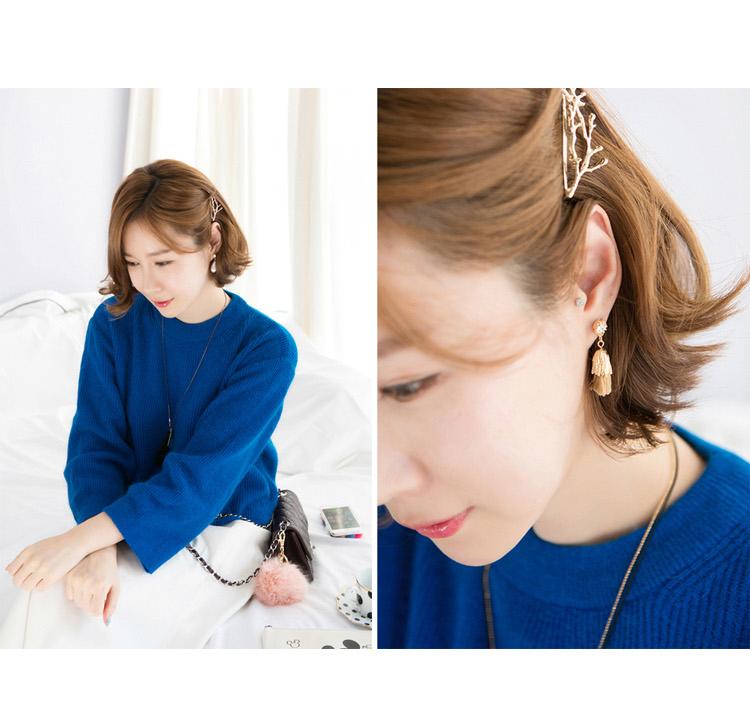 HTB1YF2lIVXXXXXhaXXXq6xXFXXXQ Hip Women Scissors/Branches Fashion Clip For Hair - 2 Colors