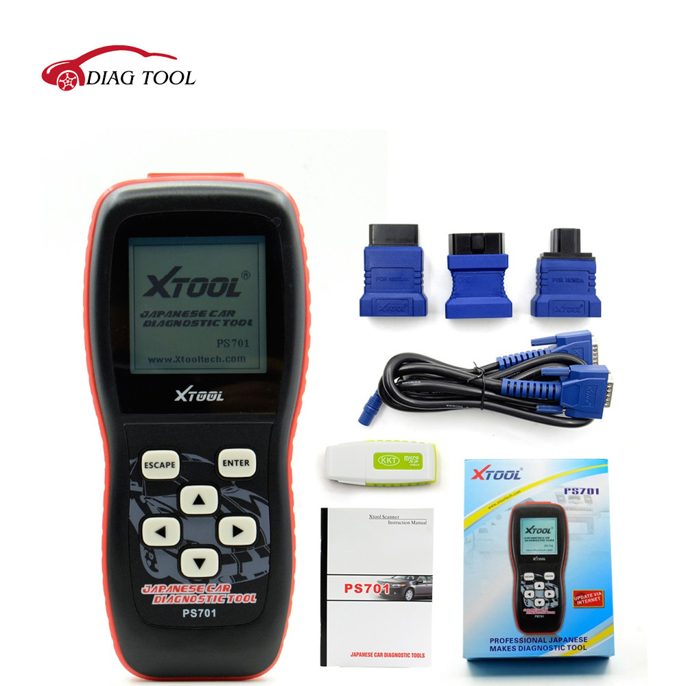 2017 New Recommend Original Xtool PS701 JP Diagnostic Tool PS 701 OBD2 Diagnostic for Japanese Cars Scanner