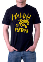 Fashion T Shirt Free Shipping Gildan Men S Short Sleeve Joke S On You Batman The