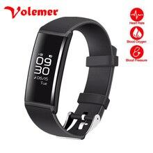 Volemer X9 Smart Браслет Heart Rate Monitor давление Крови Кислорода Шагомер Деятельность Трекер Смарт Браслет IP66 lifewaterproof
